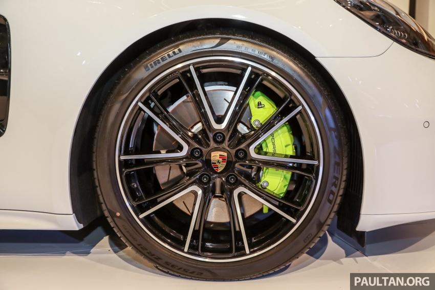 Porsche Panamera Sport Turismo – wagon mewah kini diperkenalkan secara rasmi di M'sia dengan 3 varian Image #798291