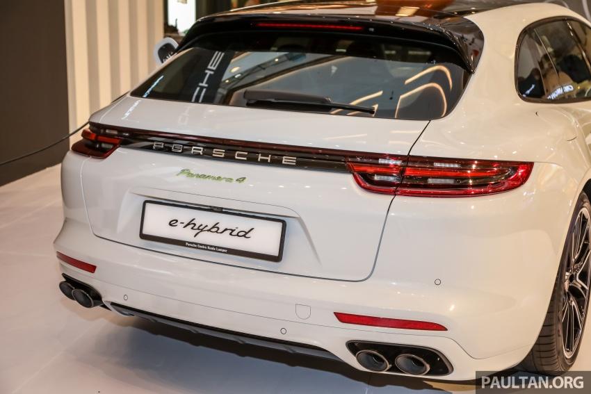 Porsche Panamera Sport Turismo – wagon mewah kini diperkenalkan secara rasmi di M'sia dengan 3 varian Image #798294
