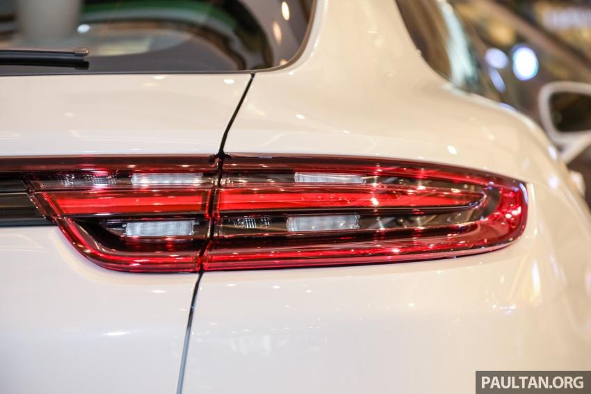 Porsche Panamera Sport Turismo – wagon mewah kini diperkenalkan secara rasmi di M'sia dengan 3 varian Image #798295