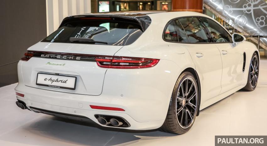 Porsche Panamera Sport Turismo – wagon mewah kini diperkenalkan secara rasmi di M'sia dengan 3 varian Image #798278