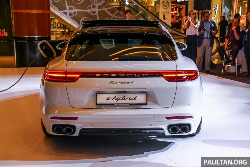 Porsche Panamera Sport Turismo – wagon mewah kini diperkenalkan secara rasmi di M'sia dengan 3 varian Image #798281