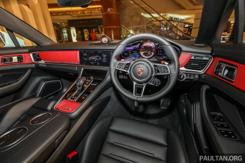 Porsche Panamera Sport Turismo – wagon mewah kini diperkenalkan secara rasmi di M'sia dengan 3 varian Image #798316