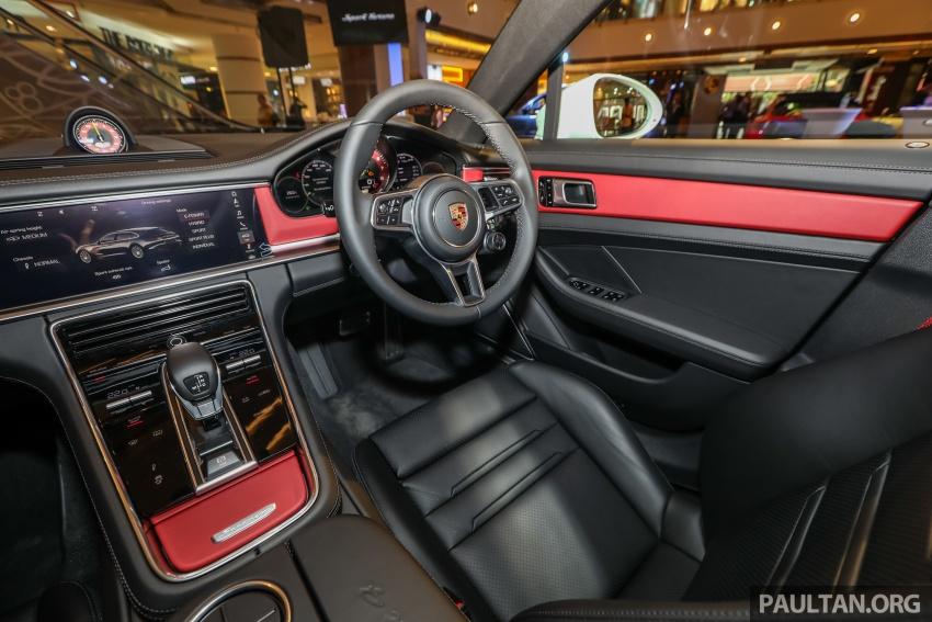 Porsche Panamera Sport Turismo – wagon mewah kini diperkenalkan secara rasmi di M'sia dengan 3 varian Image #798317