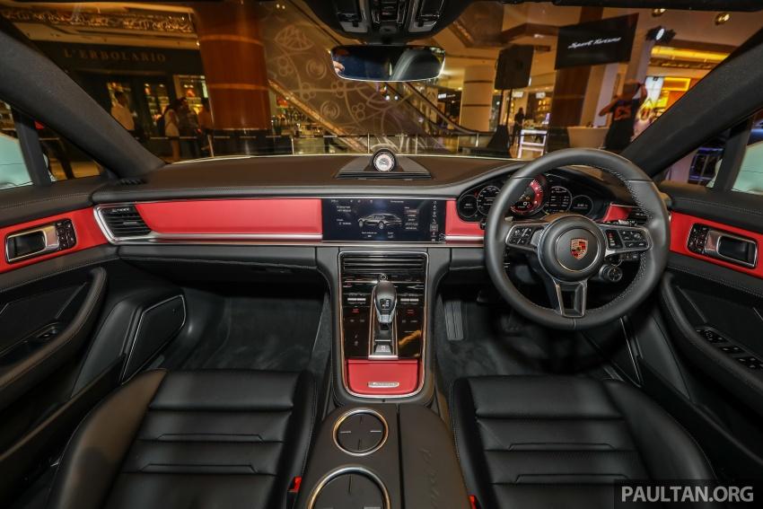 Porsche Panamera Sport Turismo – wagon mewah kini diperkenalkan secara rasmi di M'sia dengan 3 varian Image #798302