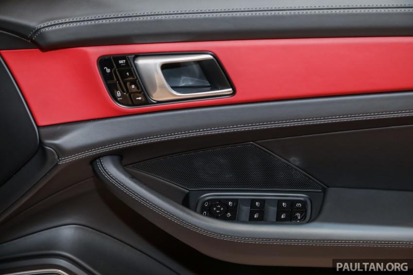 Porsche Panamera Sport Turismo – wagon mewah kini diperkenalkan secara rasmi di M'sia dengan 3 varian Image #798324