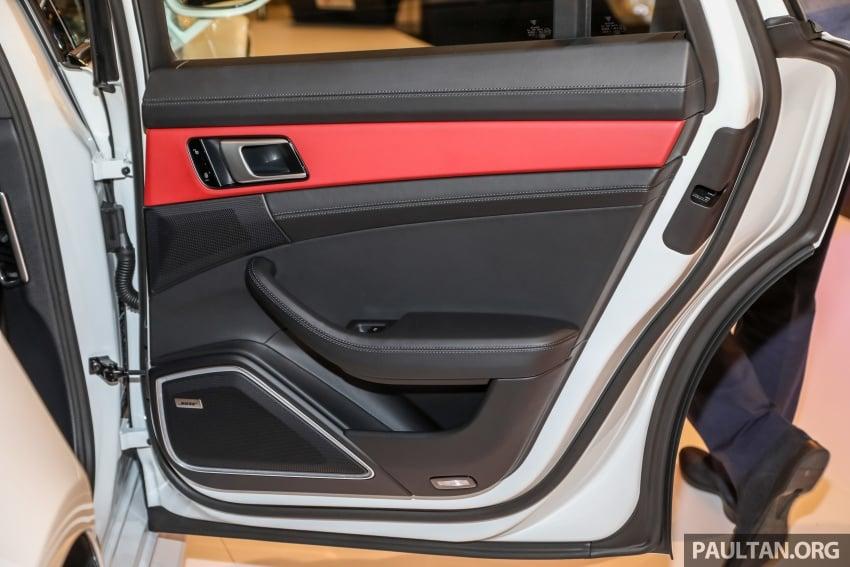 Porsche Panamera Sport Turismo – wagon mewah kini diperkenalkan secara rasmi di M'sia dengan 3 varian Image #798329