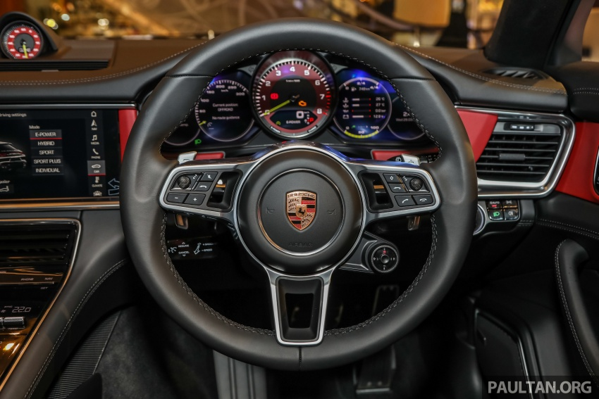 Porsche Panamera Sport Turismo in Malaysia – three variants including plug-in hybrid, RM990k to RM1.94m Image #798916