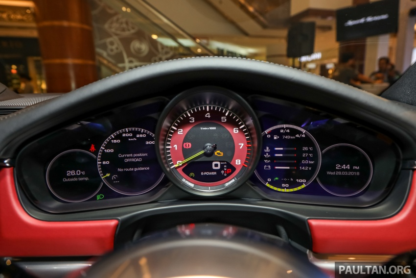 Porsche Panamera Sport Turismo in Malaysia – three variants including plug-in hybrid, RM990k to RM1.94m Image #798917