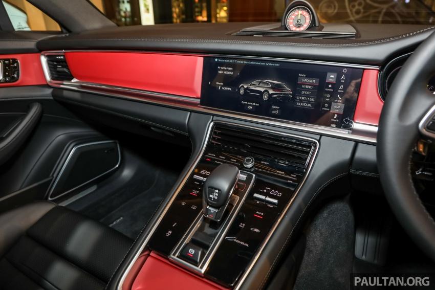 Porsche Panamera Sport Turismo – wagon mewah kini diperkenalkan secara rasmi di M'sia dengan 3 varian Image #798306
