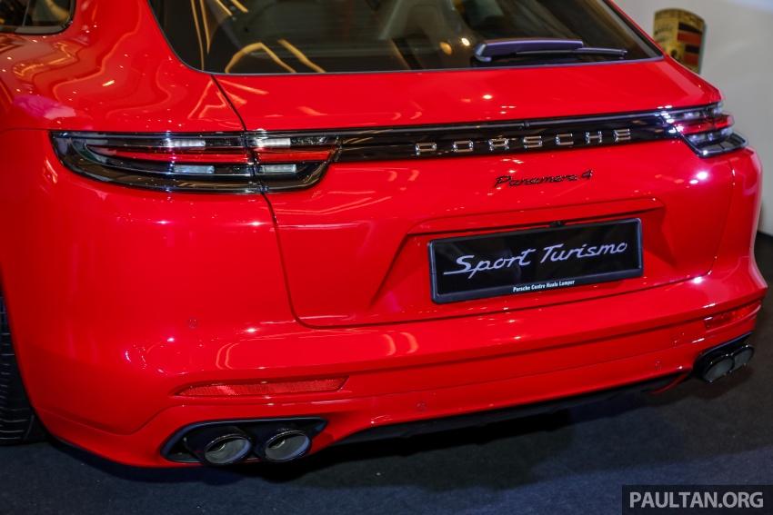 Porsche Panamera Sport Turismo – wagon mewah kini diperkenalkan secara rasmi di M'sia dengan 3 varian Image #798233