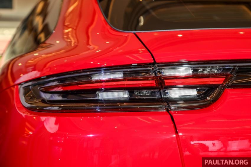 Porsche Panamera Sport Turismo – wagon mewah kini diperkenalkan secara rasmi di M'sia dengan 3 varian Image #798234