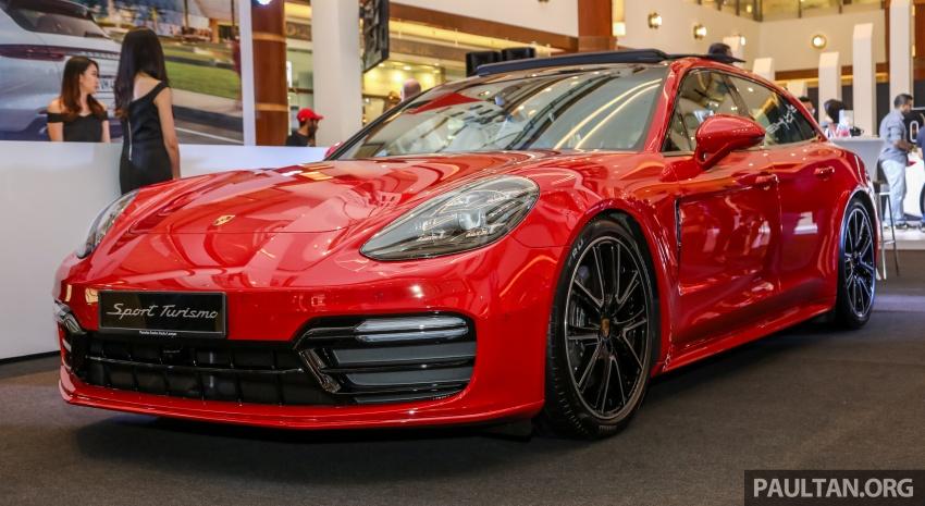 Porsche Panamera Sport Turismo – wagon mewah kini diperkenalkan secara rasmi di M'sia dengan 3 varian Image #798217