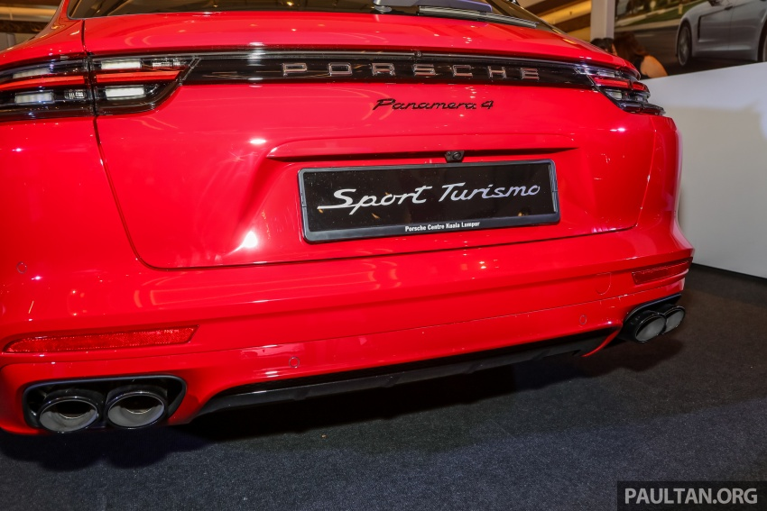 Porsche Panamera Sport Turismo – wagon mewah kini diperkenalkan secara rasmi di M'sia dengan 3 varian Image #798237