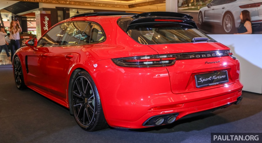 Porsche Panamera Sport Turismo – wagon mewah kini diperkenalkan secara rasmi di M'sia dengan 3 varian Image #798218