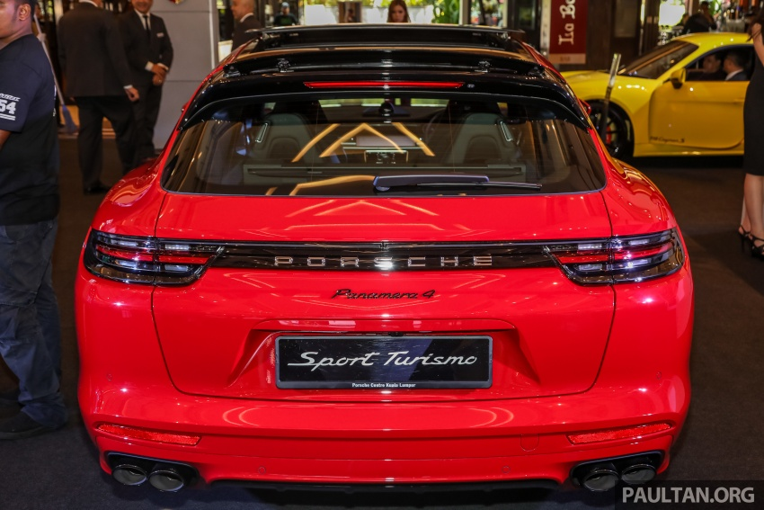 Porsche Panamera Sport Turismo in Malaysia – three variants including plug-in hybrid, RM990k to RM1.94m Image #798950