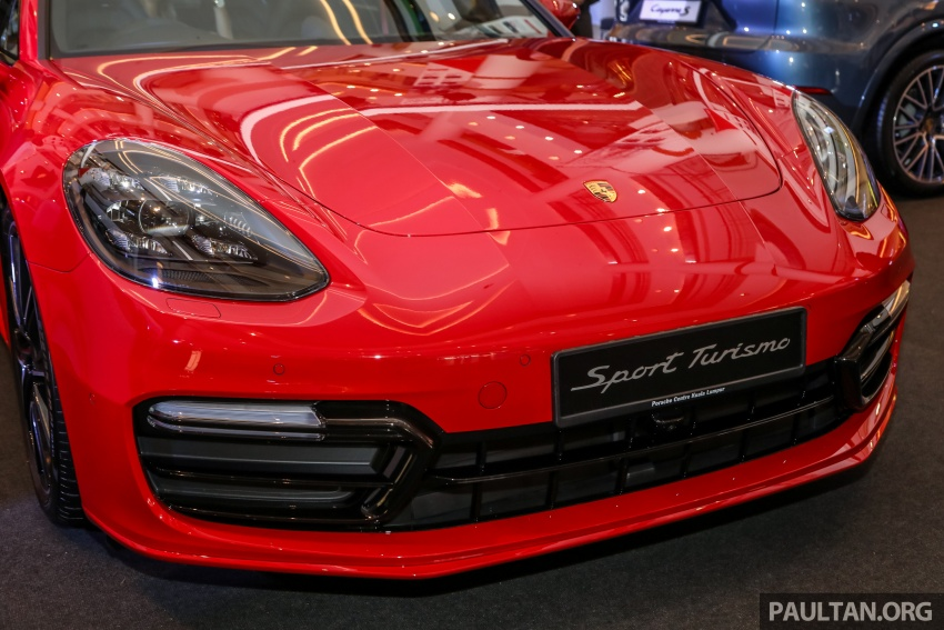Porsche Panamera Sport Turismo – wagon mewah kini diperkenalkan secara rasmi di M'sia dengan 3 varian Image #798221