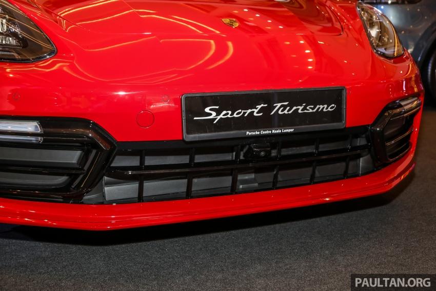 Porsche Panamera Sport Turismo – wagon mewah kini diperkenalkan secara rasmi di M'sia dengan 3 varian Image #798225