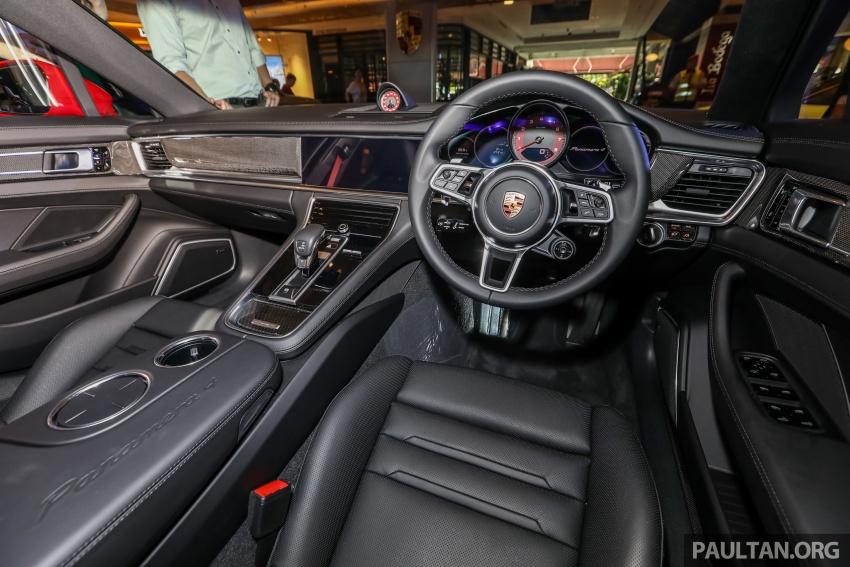 Porsche Panamera Sport Turismo – wagon mewah kini diperkenalkan secara rasmi di M'sia dengan 3 varian Image #798256