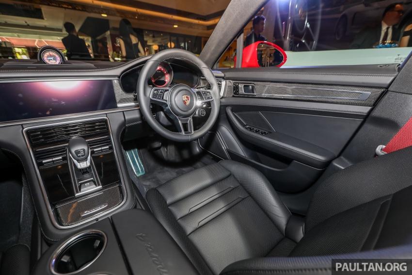 Porsche Panamera Sport Turismo – wagon mewah kini diperkenalkan secara rasmi di M'sia dengan 3 varian Image #798257