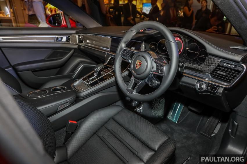 Porsche Panamera Sport Turismo – wagon mewah kini diperkenalkan secara rasmi di M'sia dengan 3 varian Image #798242