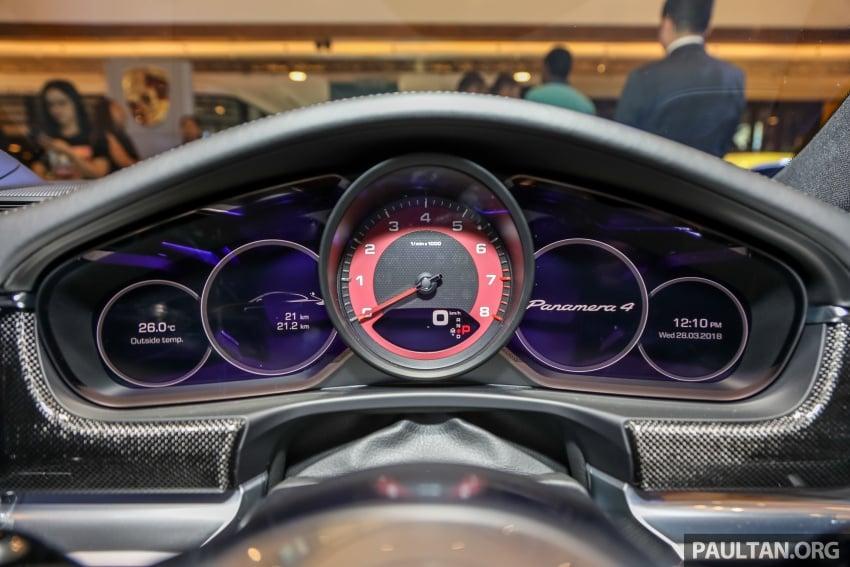 Porsche Panamera Sport Turismo – wagon mewah kini diperkenalkan secara rasmi di M'sia dengan 3 varian Image #798244