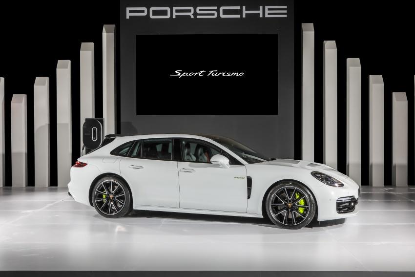 Porsche Panamera Sport Turismo – wagon mewah kini diperkenalkan secara rasmi di M'sia dengan 3 varian Image #797579