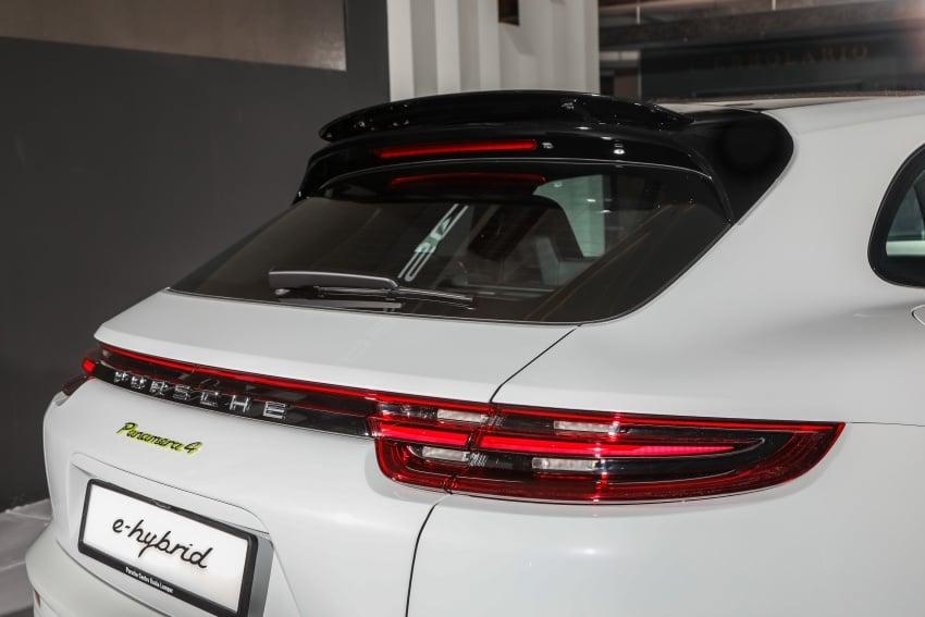 Porsche Panamera Sport Turismo – wagon mewah kini diperkenalkan secara rasmi di M'sia dengan 3 varian Image #797584