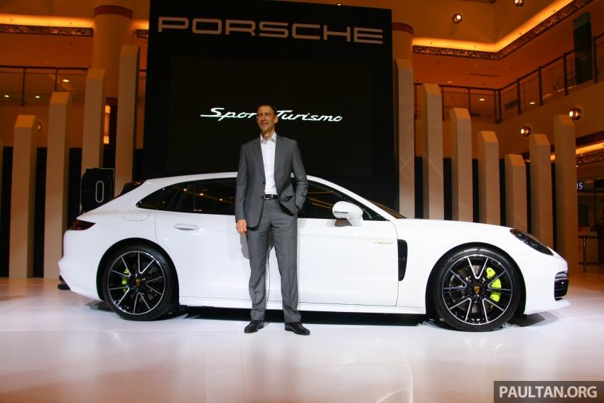 Porsche Panamera Sport Turismo – wagon mewah kini diperkenalkan secara rasmi di M'sia dengan 3 varian Image #797600