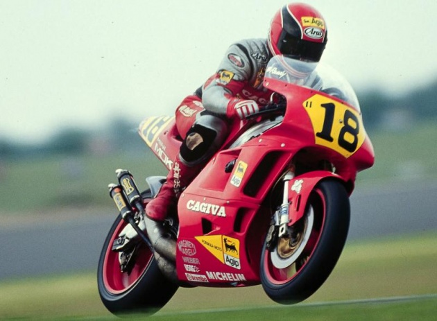 Cagiva of Italy to return as an electric motorcycle?