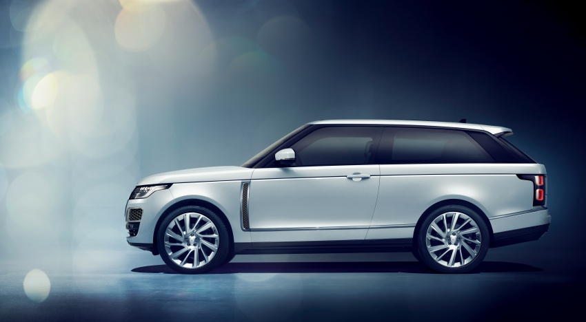 Range Rover SV Coupe diperkenal – 565 PS, 999 unit Image #787330