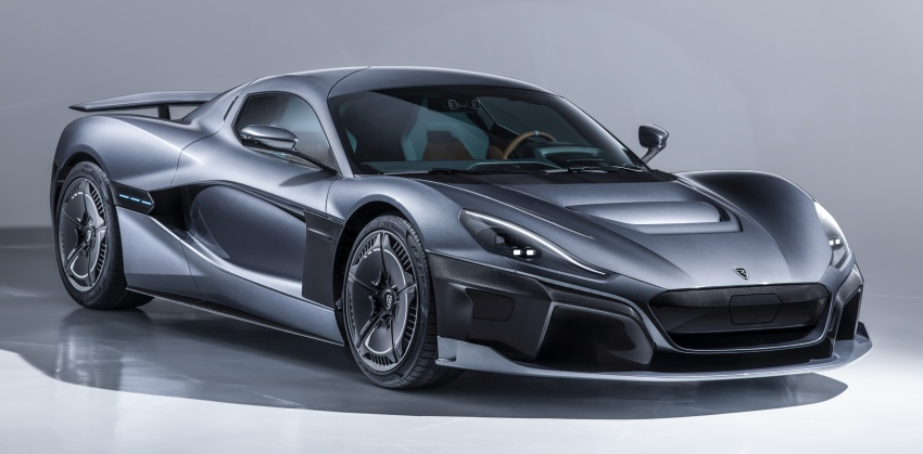 Rimac C_Two – a 1,914 hp, 2,300 Nm electric hypercar Image #787582