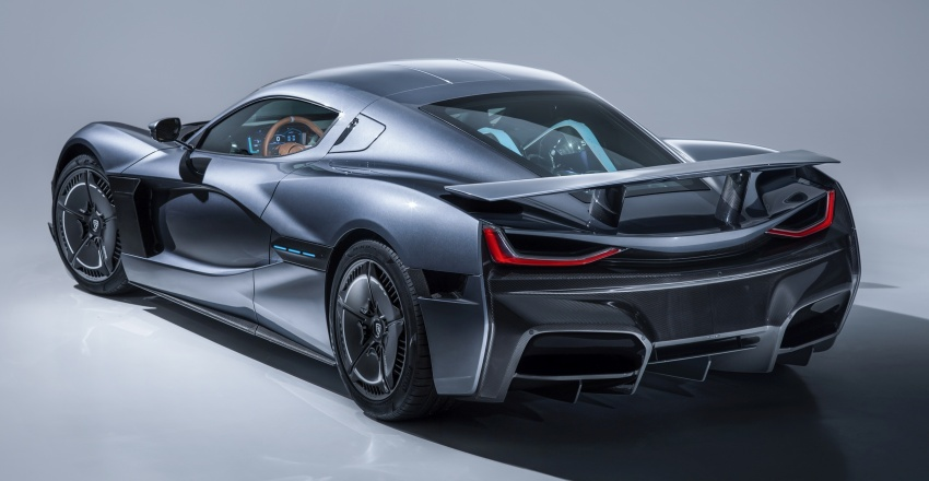 Rimac C_Two – a 1,914 hp, 2,300 Nm electric hypercar Image #787584