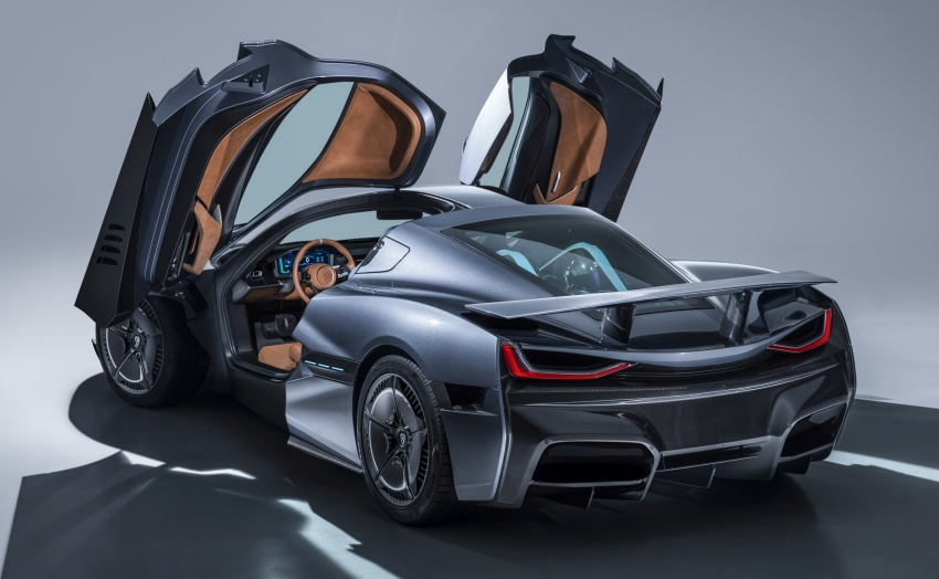 Rimac C_Two – a 1,914 hp, 2,300 Nm electric hypercar Image #787585