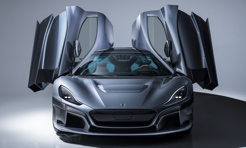 Rimac C_Two – a 1,914 hp, 2,300 Nm electric hypercar Image #787586