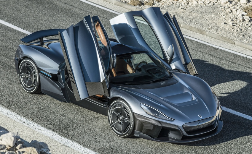 Rimac C_Two – a 1,914 hp, 2,300 Nm electric hypercar Image #787597
