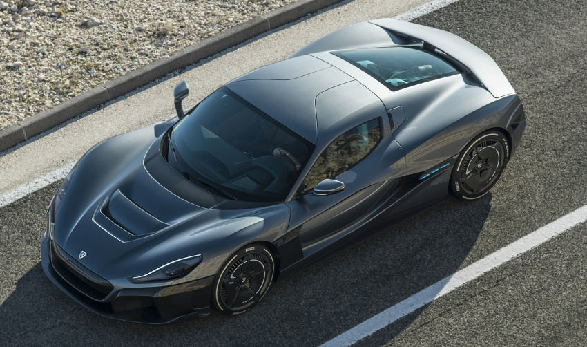 Rimac C_Two – a 1,914 hp, 2,300 Nm electric hypercar Image #787598