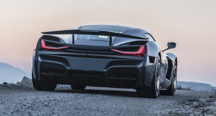 Rimac C_Two – a 1,914 hp, 2,300 Nm electric hypercar Image #787599