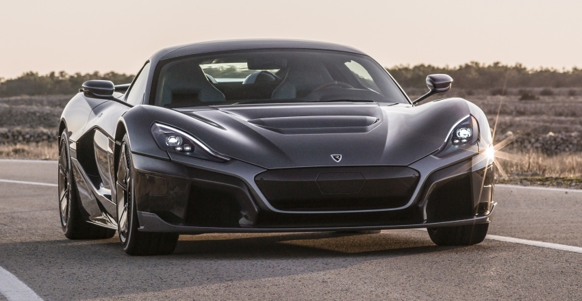 Rimac C_Two – a 1,914 hp, 2,300 Nm electric hypercar Image #787600