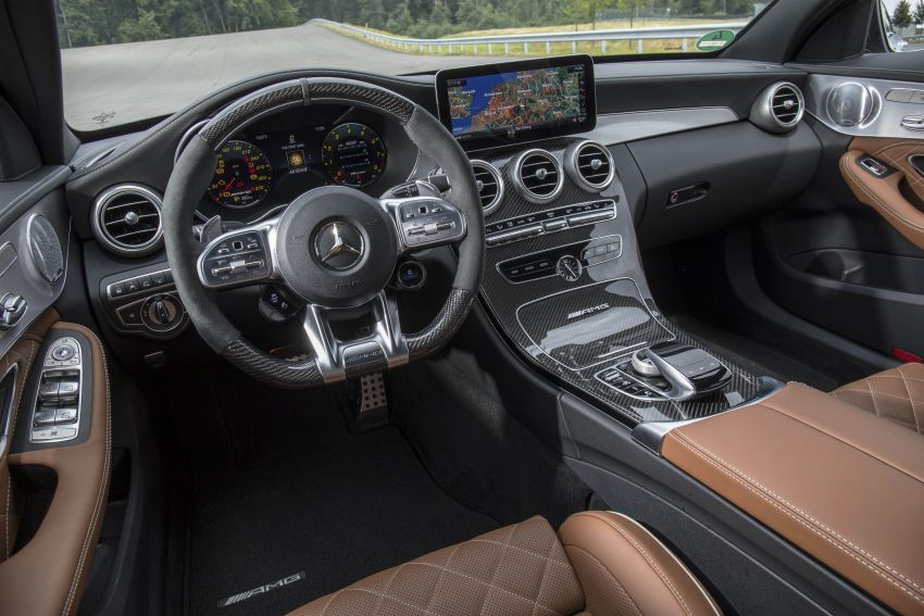 Mercedes-AMG C63 facelift debuts with new 9G auto Image #955982