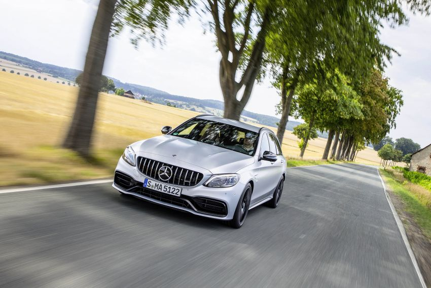 Mercedes-AMG C63 facelift debuts with new 9G auto Image #955985