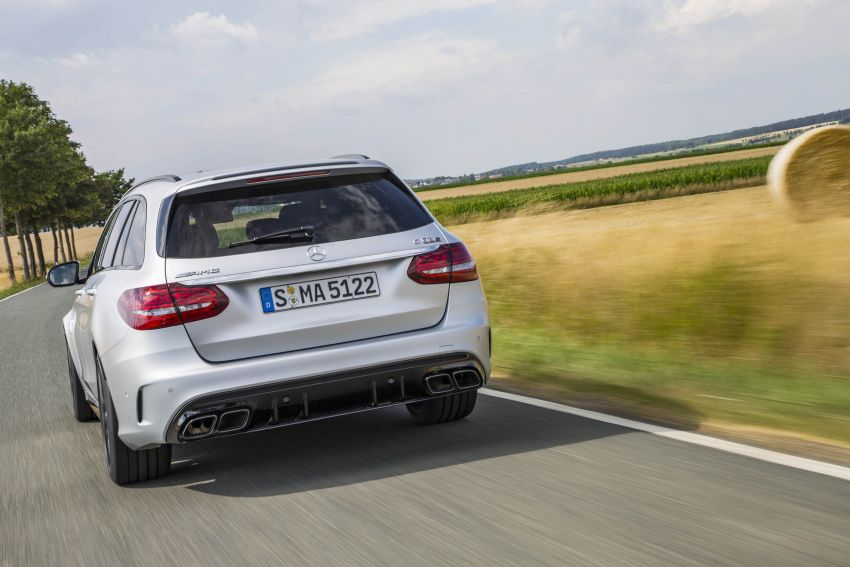 Mercedes-AMG C63 facelift debuts with new 9G auto Image #955986