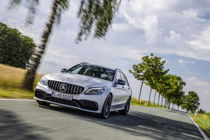 Mercedes-AMG C63 facelift debuts with new 9G auto Image #955987