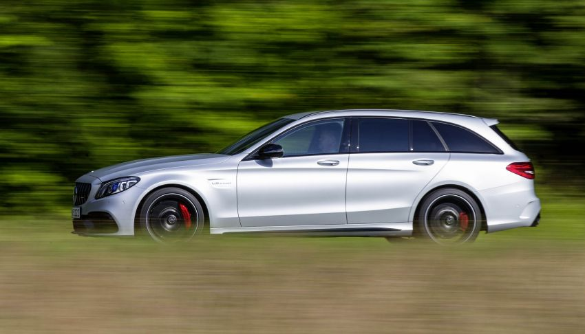 Mercedes-AMG C63 facelift debuts with new 9G auto Image #955988