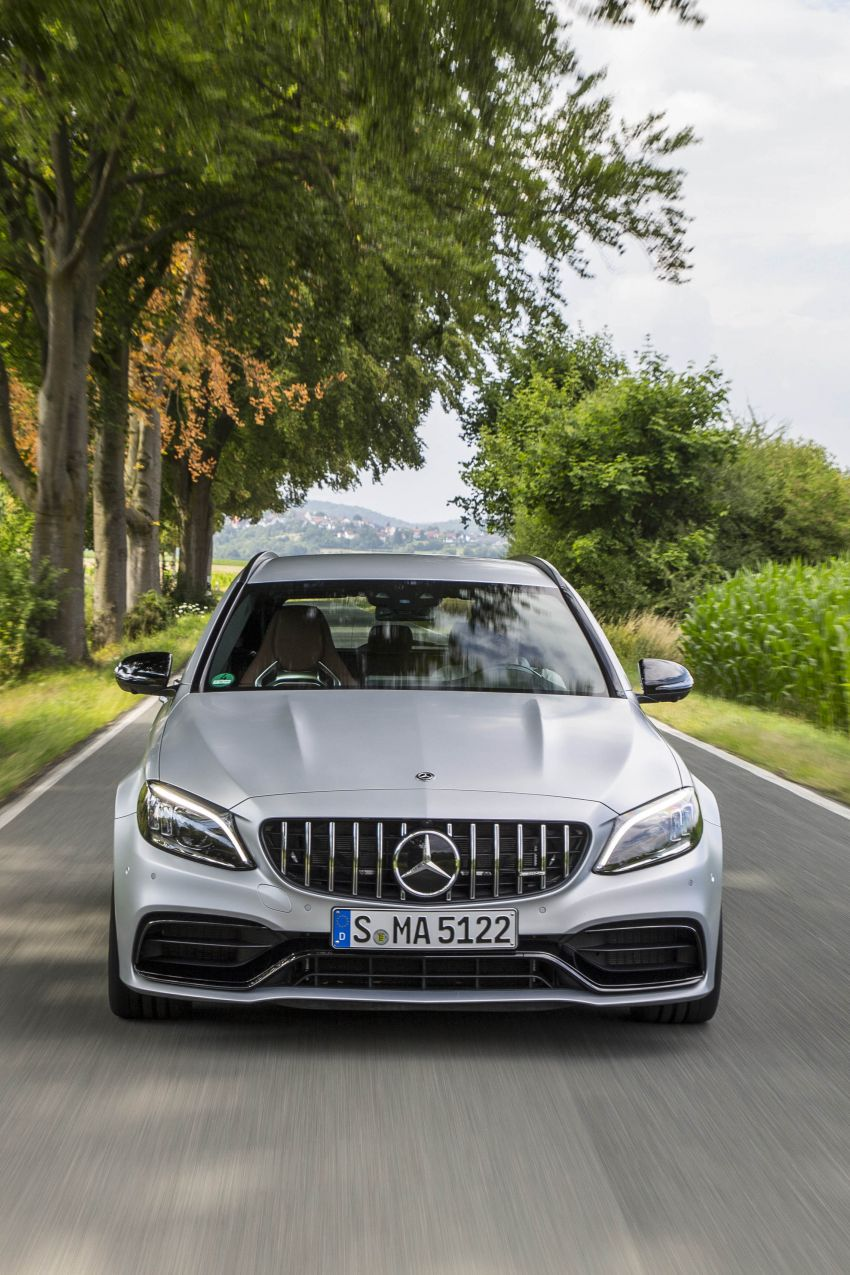 Mercedes-AMG C63 facelift debuts with new 9G auto Image #955989