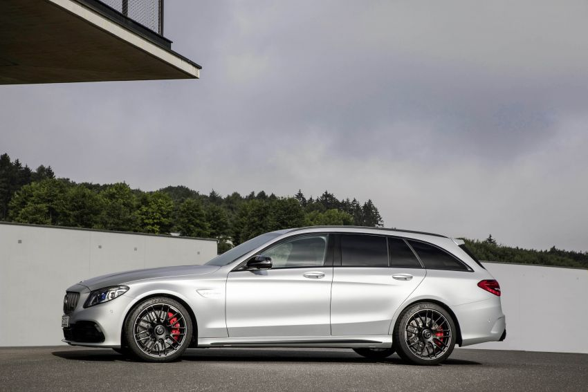 Mercedes-AMG C63 facelift debuts with new 9G auto Image #955973