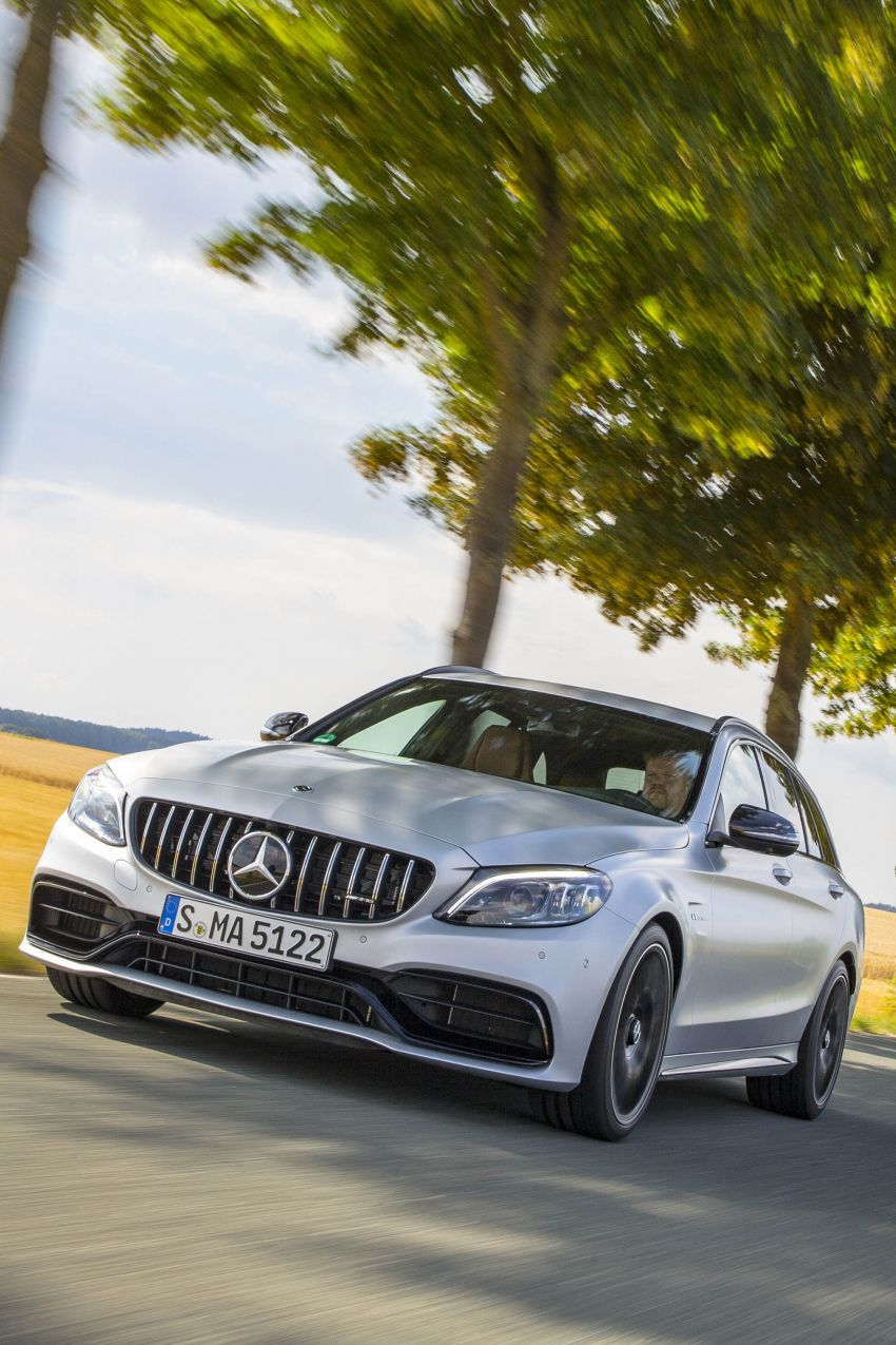 Mercedes-AMG C63 facelift debuts with new 9G auto Image #955991