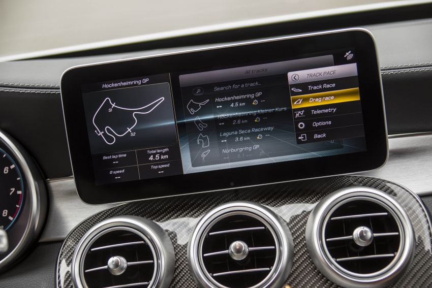 Mercedes-AMG C63 facelift debuts with new 9G auto Image #955993