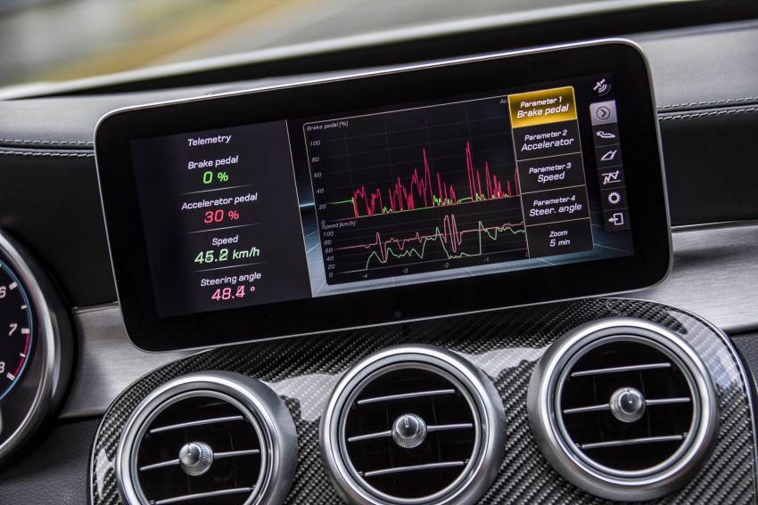 Mercedes-AMG C63 facelift debuts with new 9G auto Image #955994
