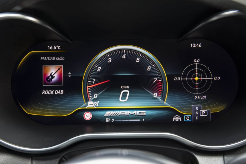 Mercedes-AMG C63 facelift debuts with new 9G auto Image #955995