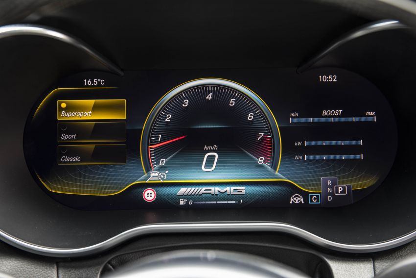 Mercedes-AMG C63 facelift debuts with new 9G auto Image #955996